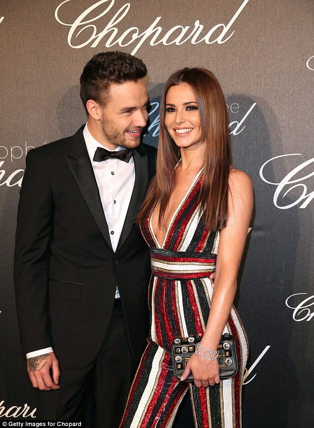 So in love: Cheryl is currently in a relationship with 1D heartthrob Liam