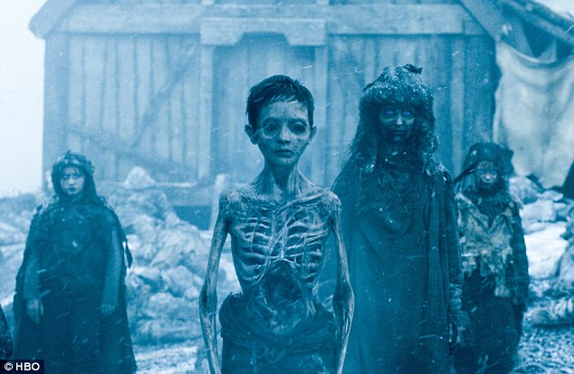 Proof: Jon Snow leads a team up north to capture a wight to prove to the southern houses the impending threat