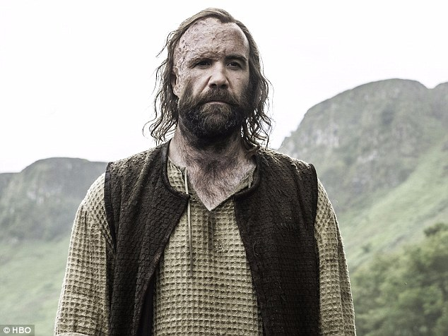 Brotherly love: The Hound will meet his brother The Mountain at a huge parley scene in King's landing