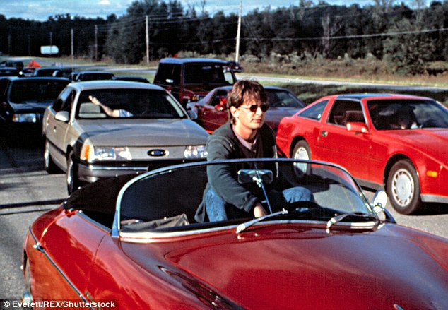 Stuck in traffic: The star was working on Doc Hollywood in 1991 when he learned of his life-changing condition