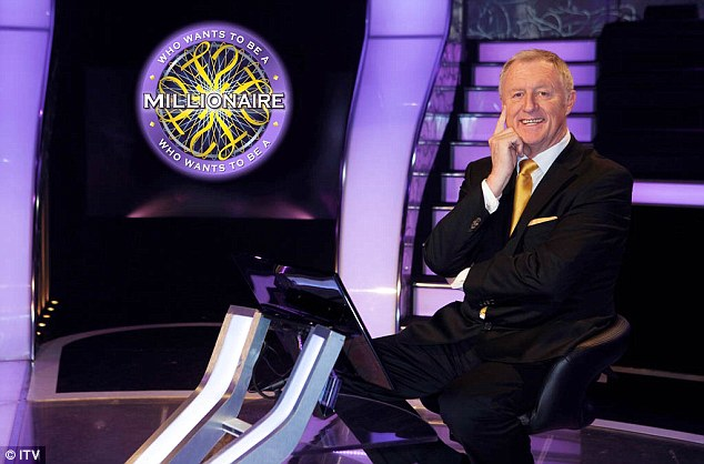 Legendary: Chris presentedWho Wants To Be A Millioniare? from1998 to 2014