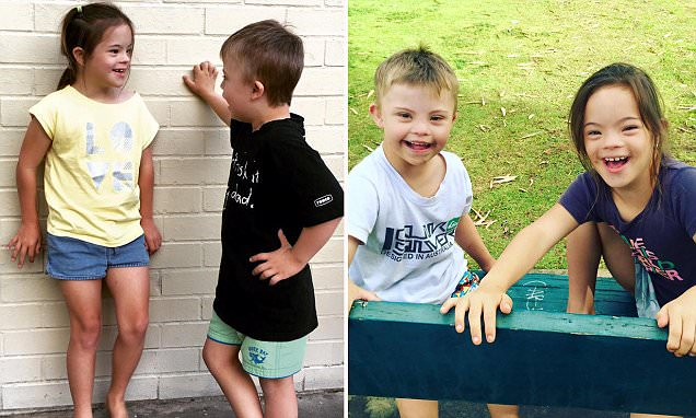 Adorable best friends with Down syndrome from Western Australia