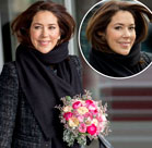 Princess Mary shows she'd suit shorter hair