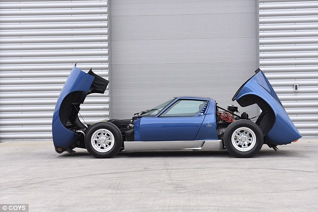 The latest owner has converted the car to SV spec, which includes clam-shell hoods front and rear
