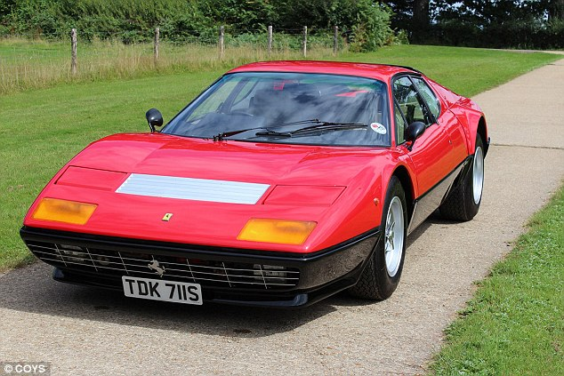 This 512 BB is the car Ferrari featured on the main stage at the 1977 London Motor Show