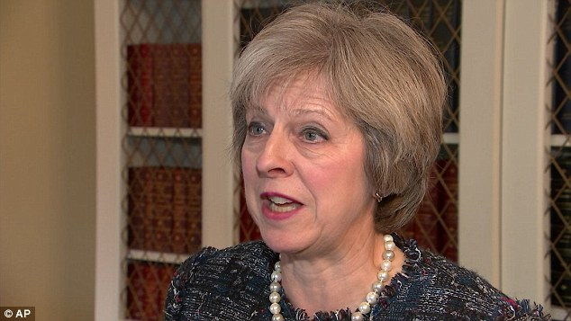 'We are, and will remain, strong and close partners on trade, security and defence,' said British Prime Minister Theresa May