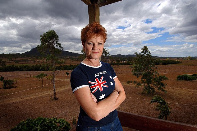 Extreme Australian right-wing Senator Pauline Hanson congratulated Trump on his presidency and thanked Americans 'for getting it right