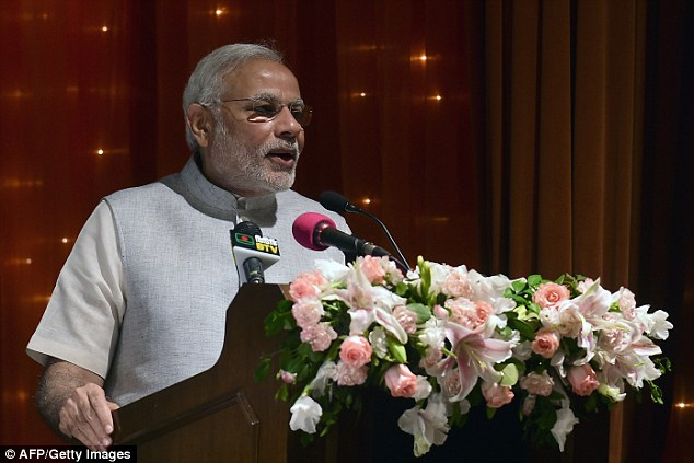 Indian Prime Minister Narendra Modi congratulated Donald Trump, who had praised him during his presidential campaign