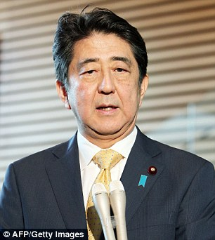 Japanese Prime Minister Shinzo Abe has instructed one of his top aides to visit Washington as early as next week