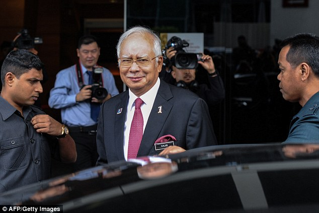 Malaysian prime minister Najib Razak has said Trump's victory shows politicians cannot take voters for granted