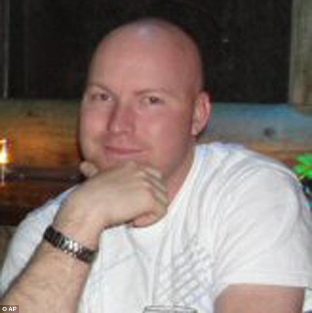 Military hero: Jesse Childress, a 29-year-old Air Force cyber-systems operator, was another victim
