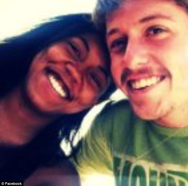 AJ Boik- killed in the Aurora, Colorado shooting by James Holmes is pictured with his girlfriend Lasamoa Cross