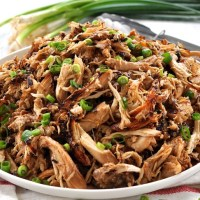 Slow Cooker Crispy Chinese Shredded Chicken