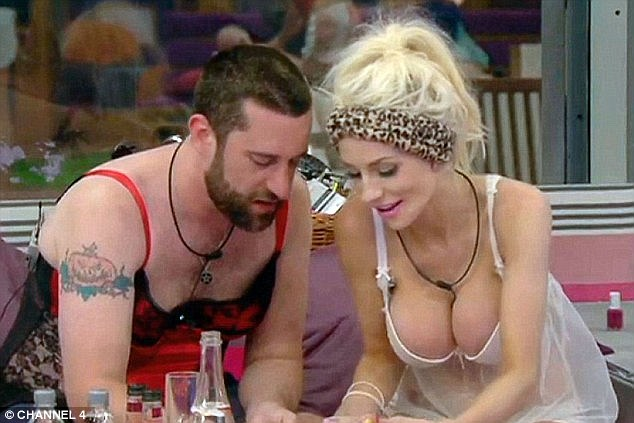 Opening up: Courtney revealed she briefly split from Doug shortly after her appearance on Celebrity Big Brother (pictured)
