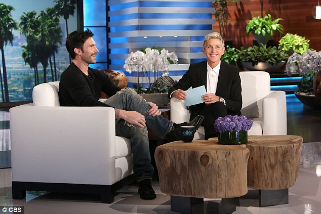 Big news: Adam Levine revealed that Ellen DeGeneres played a huge role in the naming of his daughter Dusty Rose on The Ellen Show Thursday morning