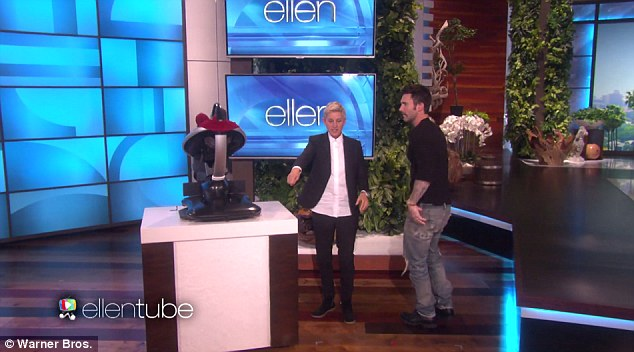 More surprises:Later on, Ellen surprised Adam with a present for his baby girl