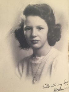 Childhood picture of grandmother
