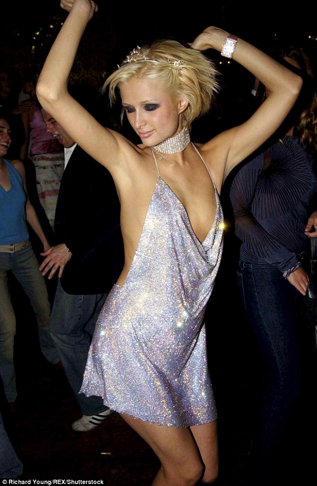 She did it first! Paris Hilton wore the same look to her 21st birthday bash in 2002