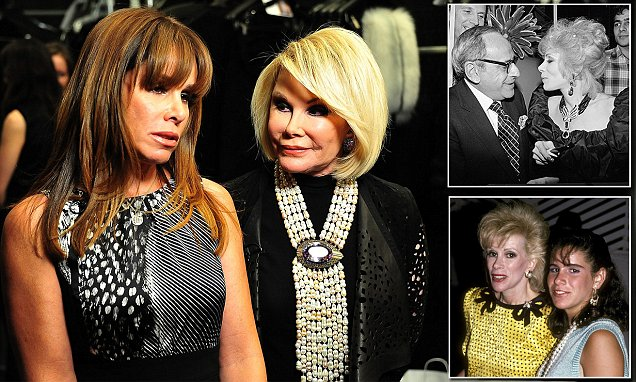Joan Rivers had to woo daughter back after Melissa blamed her for her father's suicide