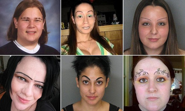 Jaw-dropping eyebrow fails that will leave you cringing