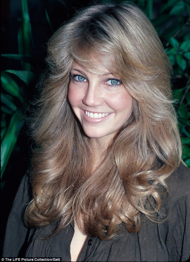 Is this the look she's going for?: TJ Hooker star Heather Locklear with her golden locks from 1982
