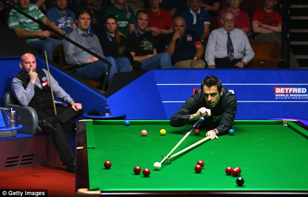 Ronnie Sullivan, pictured at the World Championships, will get a chance to compete in new Home Series
