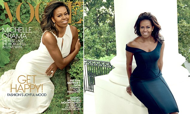 Michelle Obama insists she is ready to leave the White House as she covers Vogue