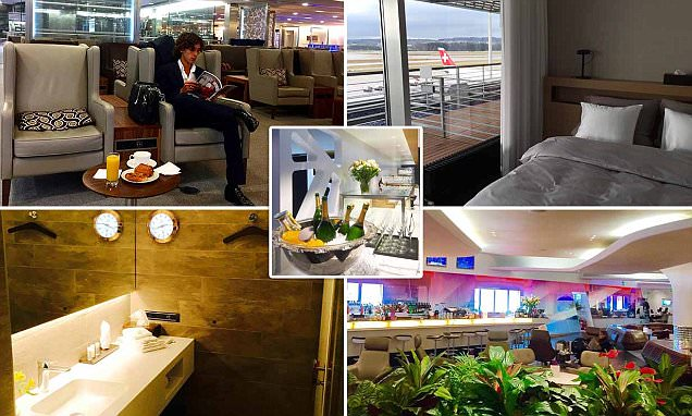 Aviation expert reveals how ANYONE can enjoy airport lounges
