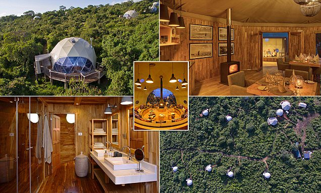 Inside Africa's futuristic safari domes in Tanzania's Highlands camp