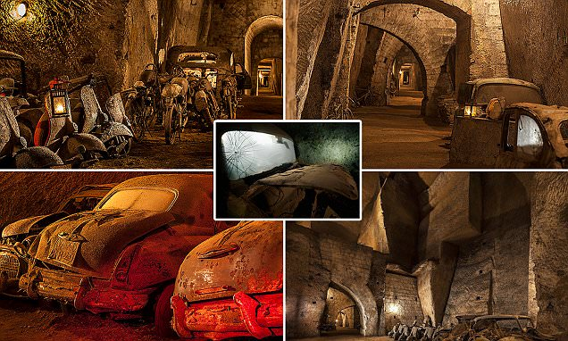 Inside secret 19th-century tunnel under Naples that used to be escape route for the king