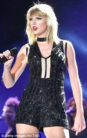 A photograph Taylor Swift (pictured) claims is evidence that a former radio DJ David Mueller sexually assaulted her has leaked after a judge granted a motion for it to be sealed