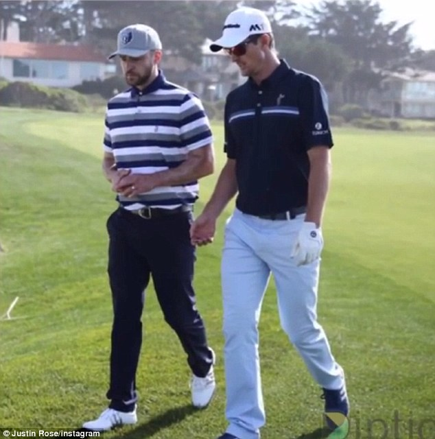 '#TeamJRJT':The sport-fishing enthusiasts, neighbours, and 'good friends' previously enjoyed male bonding on the green of AT&T Pebble Beach for a Pro-Am tournament in February