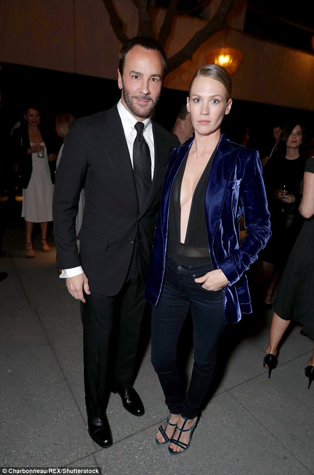 Yes: Tom Ford approved of January's outfit