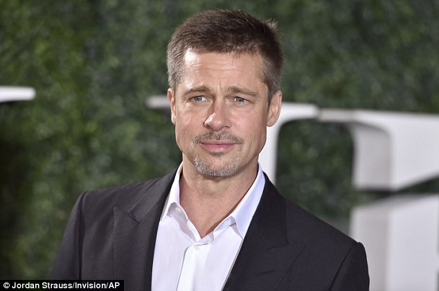 Just one glance at the first picture of Brad Pitt since his split from Angelina Jolie and you can see the pain etched on his face