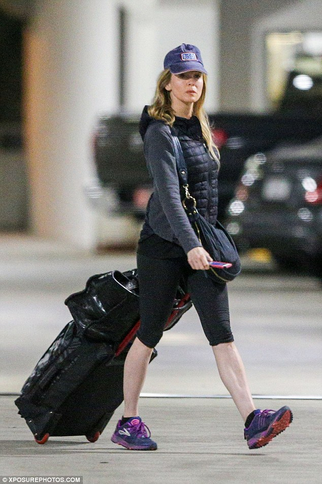 Vacation time: After an exhaustive few months of promoting Bridget Jones's Baby and The Whole Truth, Zellweger might finally have some time to relax