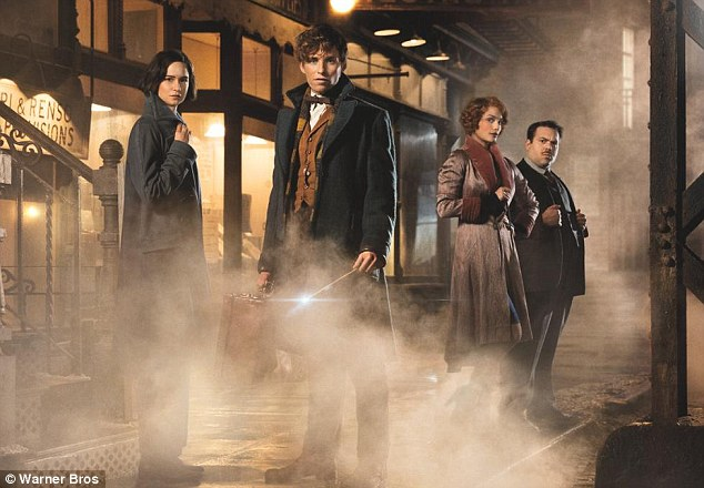 Spooky! Fantastic Beasts And Where To Find Them hits screens on November 17