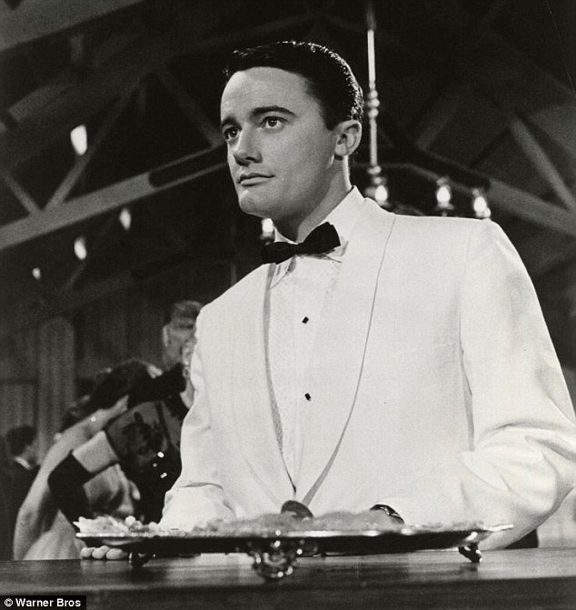 A star is born: Vaughn in the 1959 film The Young Philadelphians, for which he was nominated for an Academy Award