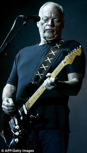 Retire from the stage: David Gilmour