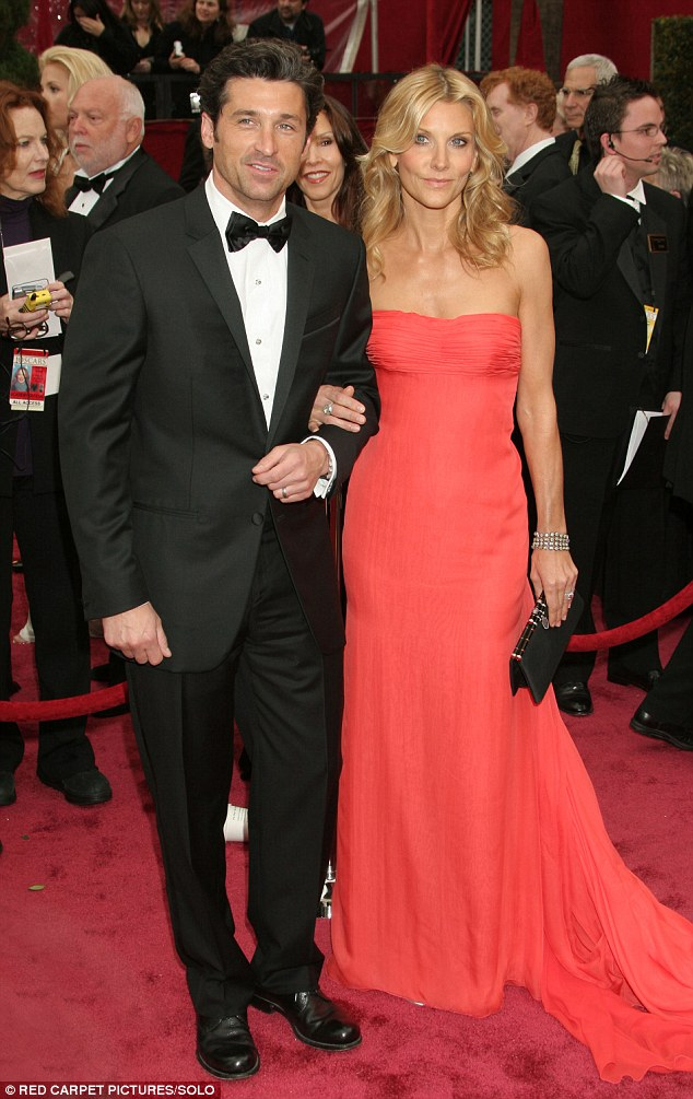 Meant to be together: Patrick and Jill Dempsey called off any plans for separation earlier this year after Jill filed for divorce in 2015. They are pictured here in 2008