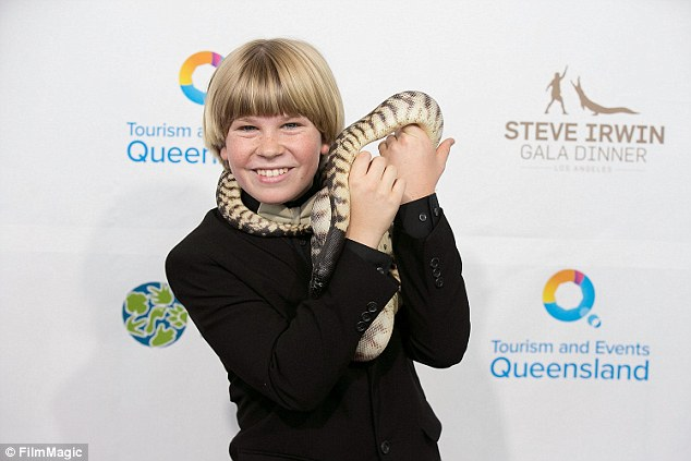Popular: Robert appeared on the breakfast television program to discuss his nomination for a kid's Emmy Award for co-hosting children's wildlife series, Wild But True