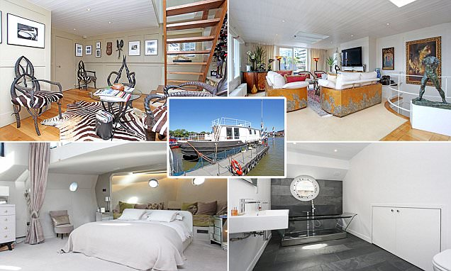 Would you live on one of these £1million-plus houseboats?