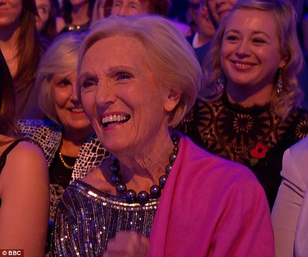 Nice to see you!Strictly Come Dancing viewers were more concerned by who was in the audience than on the dancefloor on Saturday night, after spotting Mary Berry in the crowd