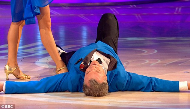 Floored: He blew everyone away with his unexpected performance