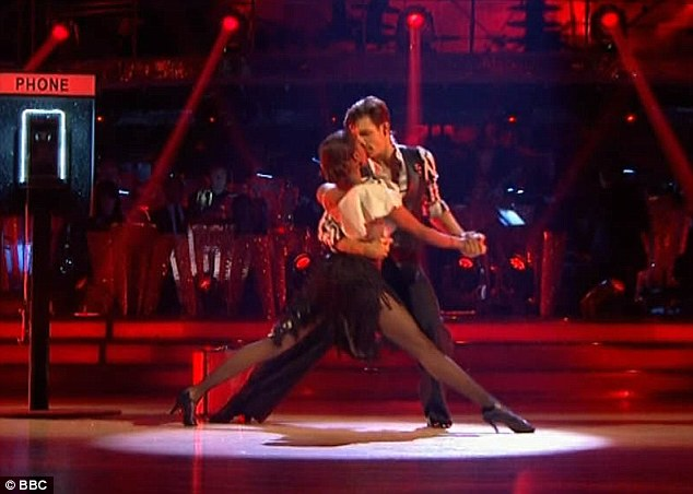 Too much?On the other end of the spectrum was Danny Mac's Argentine Tango with Oti Mabuse which some of the judges deemed too 'aggressive'