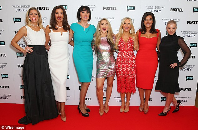 Coming soon: Real Housewives Of Sydney will premiere in 2017 on Foxtel's Arena (Pictured: the housewives)