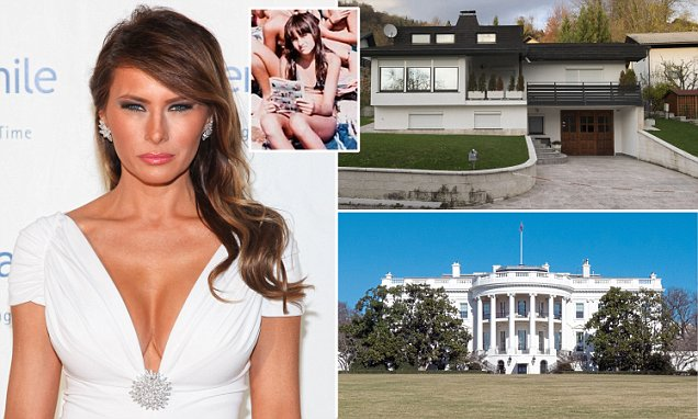 Melania Trump's transition from modest home in Slovenia to being First Lady of White House