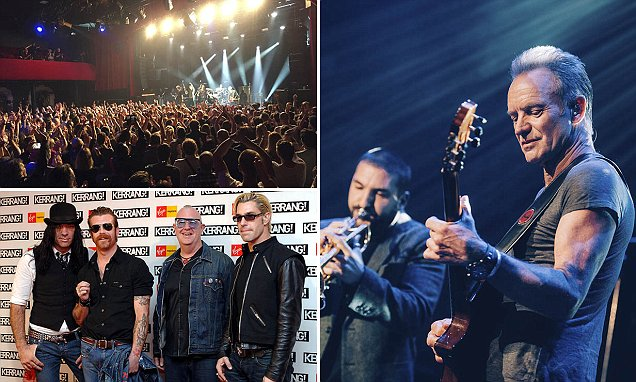 Sting arrives in Paris ahead of Bataclan concert on Paris Attacks anniversary