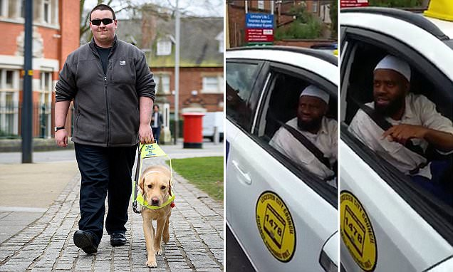 Muslim Uber driver fined after he refused to pick up a blind passenger and guide dog