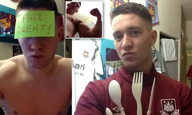 HM Prison Shotts inmate sparks fury by posting topless selfies on Facebook
