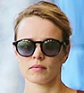 Cool and casual: Rachel McAdams was impossibly stylish as she grabbed some food to go in Los Angeles.